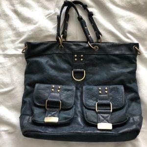 Vieta Navy Blue Handbag